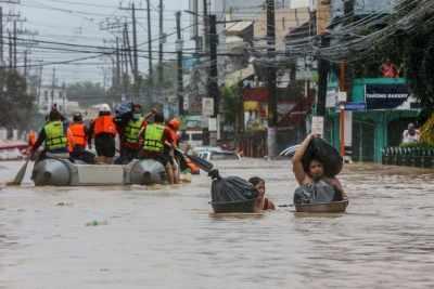 फिलीपींस में तूफान से मरने वालों की संख्या 19 तक पहुंची