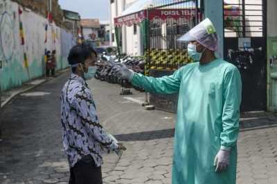 इंडोनेशिया में कोरोना के 1,233 नए मामले दर्ज, 48 की मौत