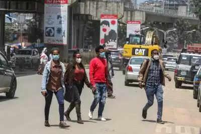 इथियोपिया में कोरोना के 1,664 नए मामले दर्ज