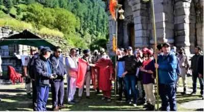 कश्मीरी पंडितों की हरमुख-गंगाबल यात्रा का समापन