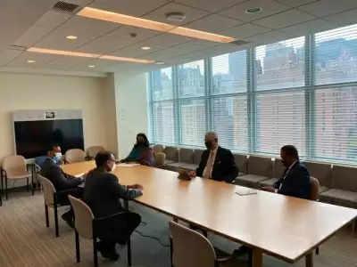 यूएनजीए की अध्यक्षता करने से पहले भारत के तिरुमूर्ति ने वोल्कन बोजकिर से मुलाकात की