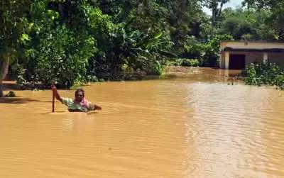 ओडिशा में भारी बारिश से 4 की मौत, 1 लापता