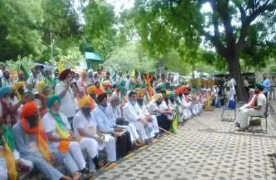 किसान संसद: किसानों की 13 अगस्त तक धरना प्रदर्शन की योजना