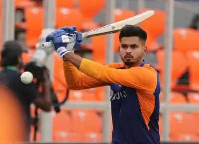 इंग्लैंड में होने वाले वनडे टूर्नामेंट से बाहर हुए श्रेयस अय्यर