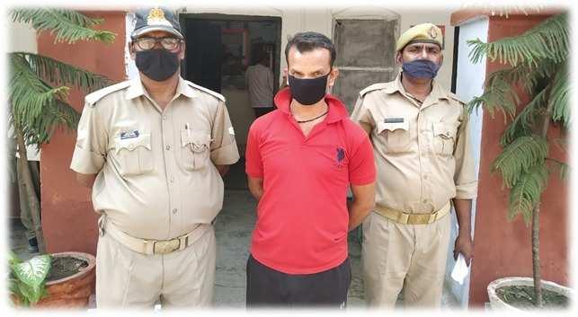 पीएम मोदी की आपत्तिजनक तस्वीर सोशल मीडिया पर अपलोड करने वाला गिरफ्तार