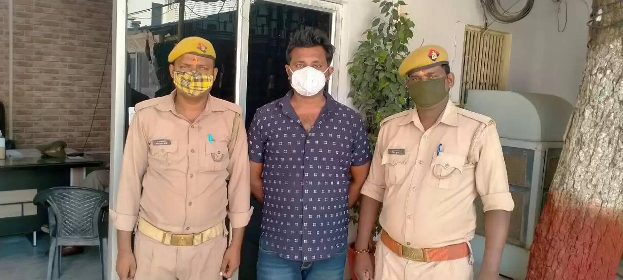 शिवपुर पुलिस ने नशे में फायरिंग करने के तीसरे आरोपी को भी पिस्टल के साथ दबोचा